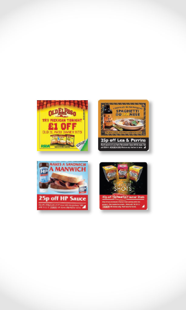 Host-Food Stickering campaigns