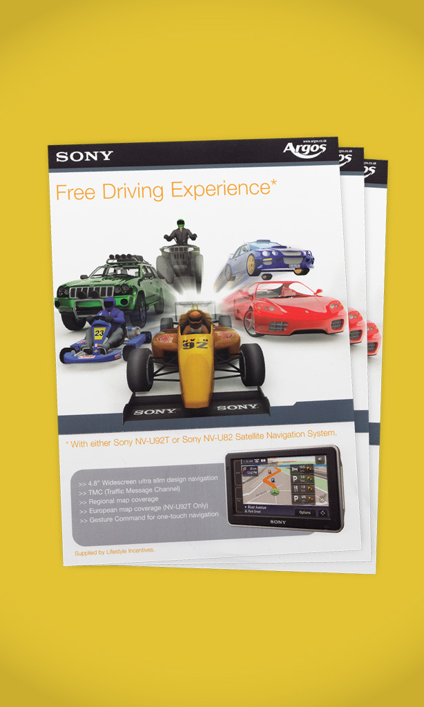 Sony GWP campaign