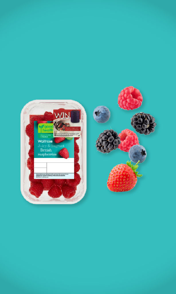 Waitrose Berries campaign