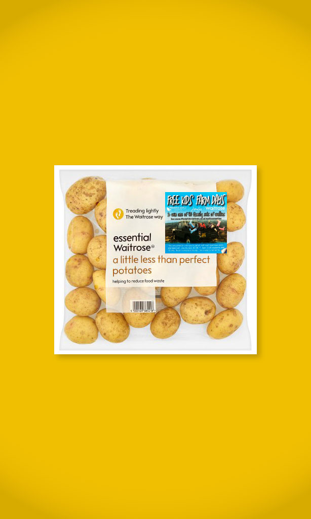 Waitrose Potatoes campaign